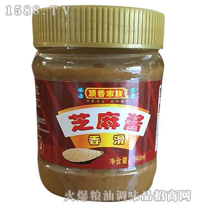 顶香家族香滑芝麻酱340ml
