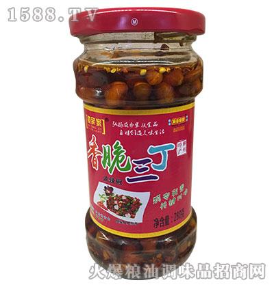 鱼亲家香脆豆丁酱280g