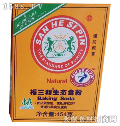 福三和生态食粉454g(盒装)