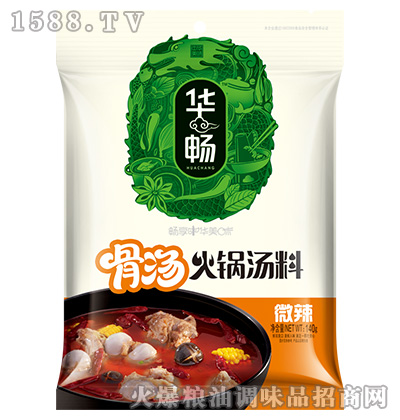 骨汤火锅汤料-微辣140g