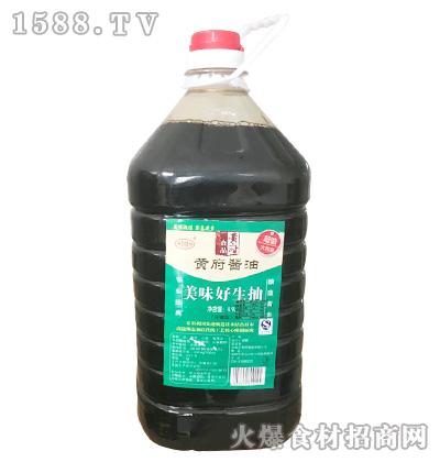 黄府酿造酱油(佐餐型)4.9L