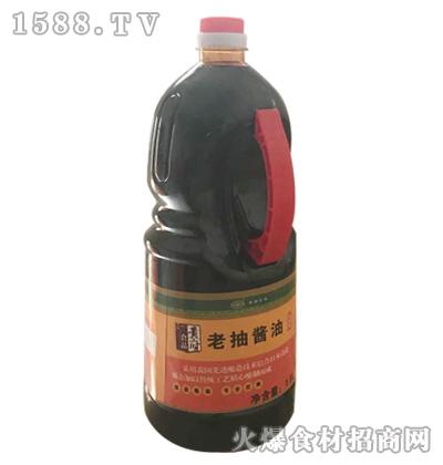 黄府老抽酱油1.8L