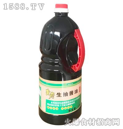 黄府生抽酱油1.8L