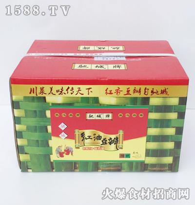 驰城牌红油豆瓣箱装