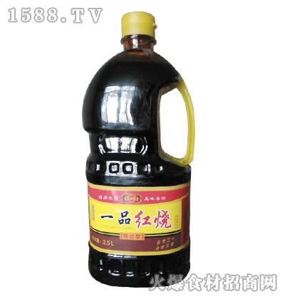 天福缘一品红烧酱油(特红型)2.5L