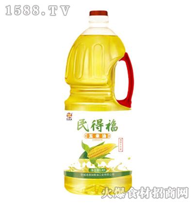 民得福玉米油1.8L