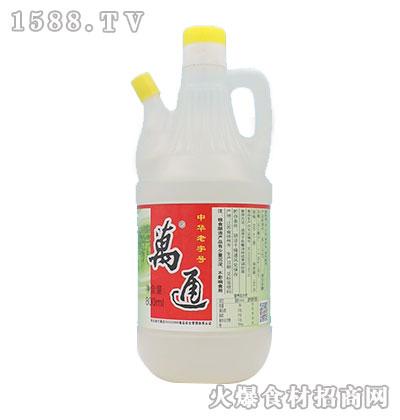 万通-纯粮白醋800ml
