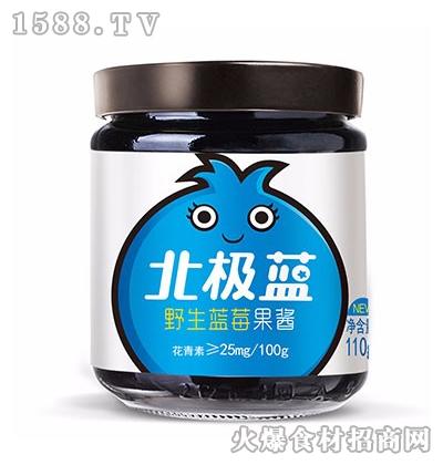 仲景北极蓝野生蓝莓果酱(原味)