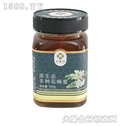 兴唐兴原生态多种花蜂蜜500g