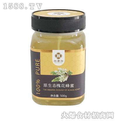兴唐兴原生态槐花蜂蜜500g