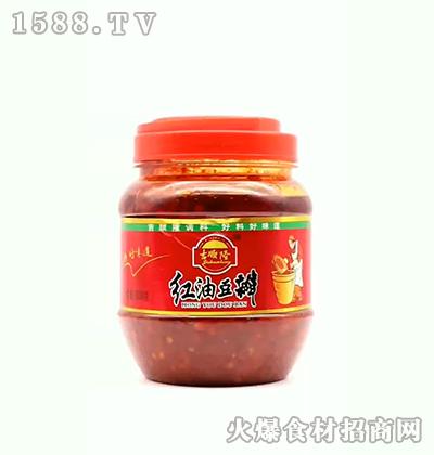 吉顺隆红油豆瓣500g