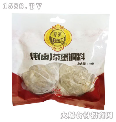 枣星炖(卤)茶蛋调料40克