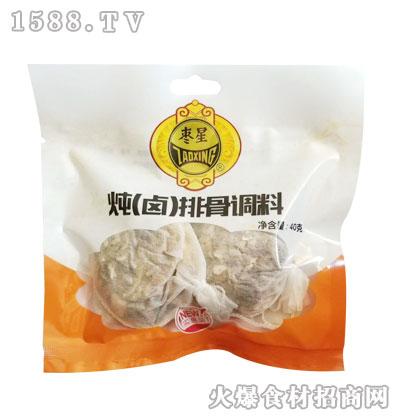 枣星炖(卤)排骨调料40克