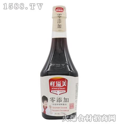 零添加特级酱油770ml-鲜溢美