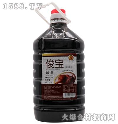 俊宝酱油5L-俊宝