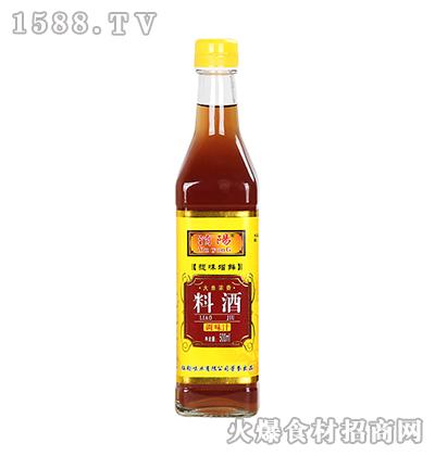 �U阳料酒500ml方瓶