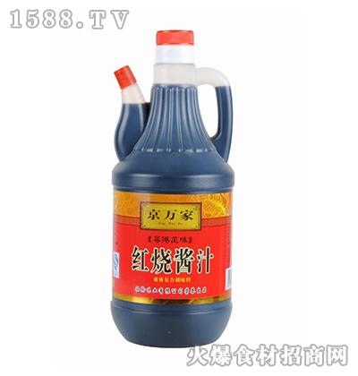 京万家红烧酱汁800ml