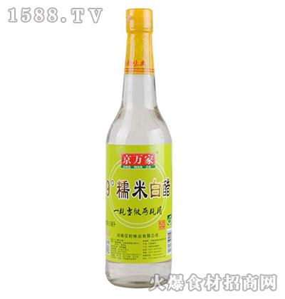京万家9度糯米白醋620ml