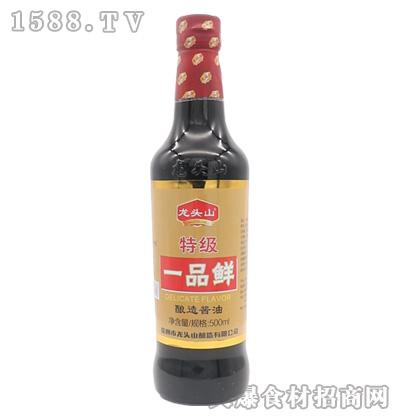 龙头山-特级红烧酱油500ml