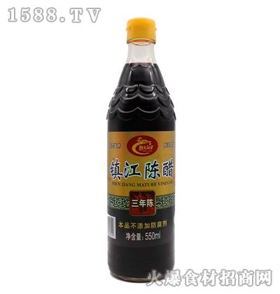 恒冠-三年陈镇江陈醋550ml