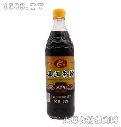 恒冠-三年陈镇江香醋550ml