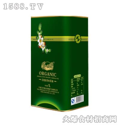 道心园有机原香野茶油1L