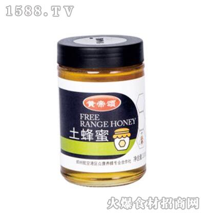 黄帝颂土蜂蜜1000g