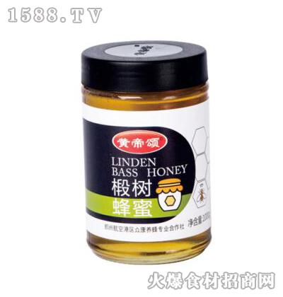 黄帝颂椴树蜂蜜1000克