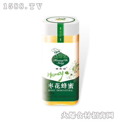 黄帝颂枣花蜂蜜1000克