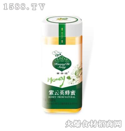 黄帝颂紫云英蜂蜜塑料瓶1000克