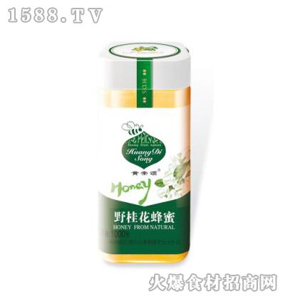 黄帝颂野桂花蜂蜜塑料瓶1000克