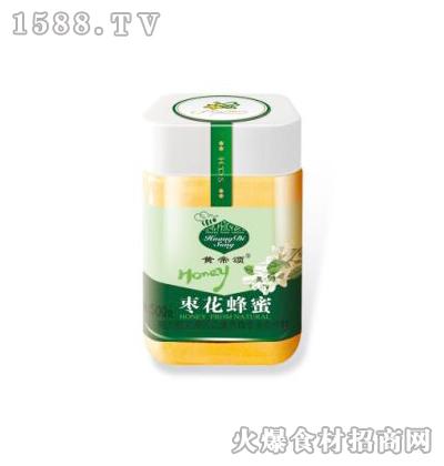 黄帝颂枣花蜂蜜塑料瓶500克