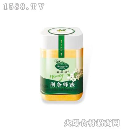 黄帝颂荆条蜂蜜塑料瓶500克