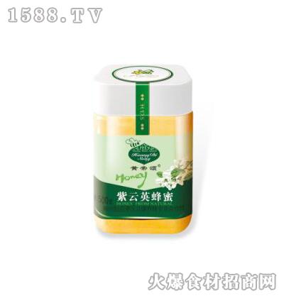 黄帝颂紫云英蜂蜜塑料瓶500克