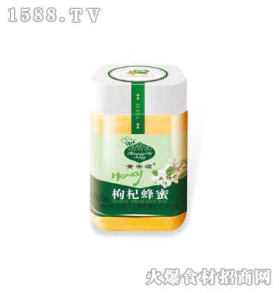 黄帝颂枸杞蜂蜜塑料瓶500克