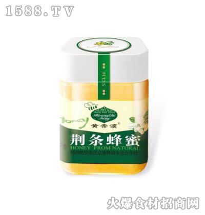 黄帝颂荆条蜂蜜350克