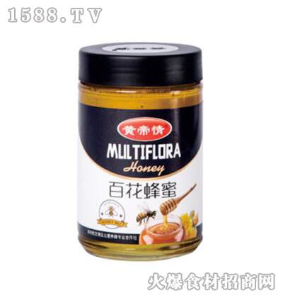 黄帝情百花蜂蜜1000g
