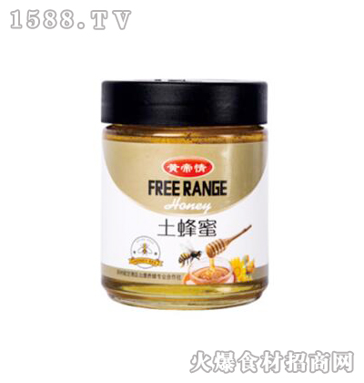 黄帝情土蜂蜜500g