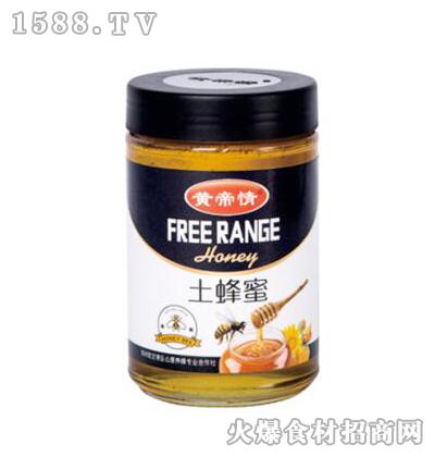 黄帝情土蜂蜜1000g