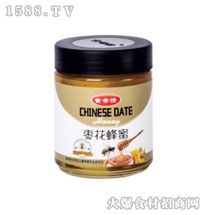 黄帝情枣花蜂蜜500g