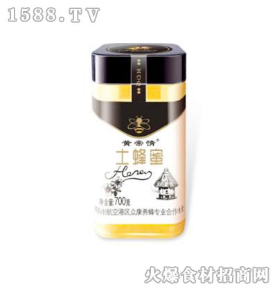 黄帝情土蜂蜜700克