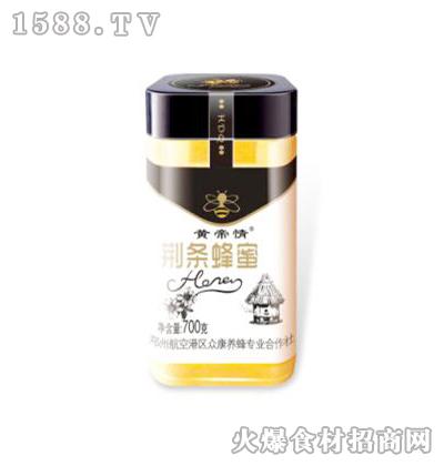 黄帝情荆条蜂蜜700克