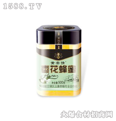黄帝情枣花蜂蜜500克