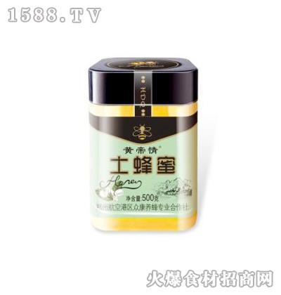 黄帝情土蜂蜜500克
