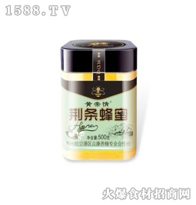 黄帝情荆条蜂蜜500克