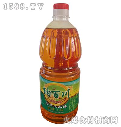 纳百川非转基因成品大豆油1.8L