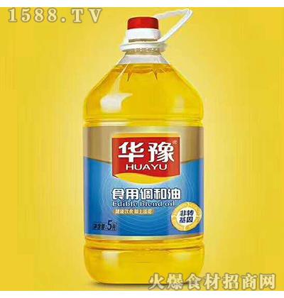 华豫食用调和油5L