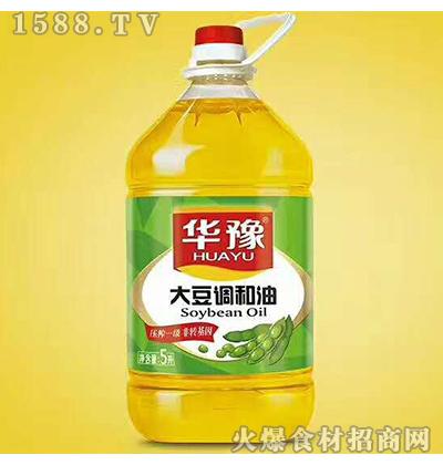 华豫大豆调和油5L