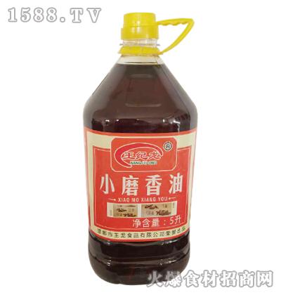 王纪龙小磨香油5L