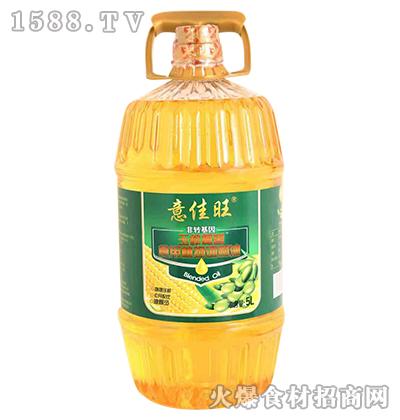 意佳旺玉榨橄香食用植物调和油5L